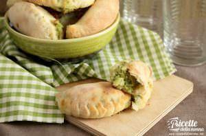 Calzone con brie e broccoli