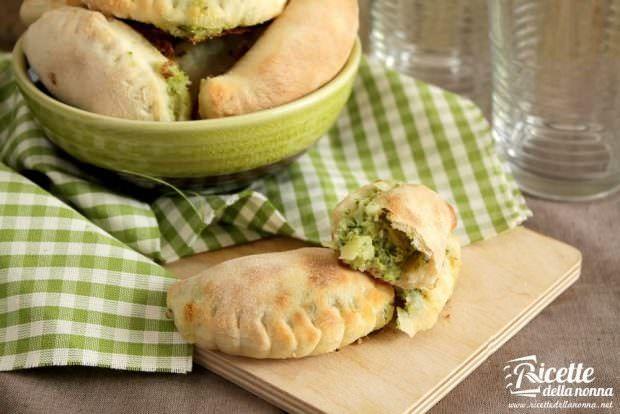 Ricetta calzone brie e broccoli