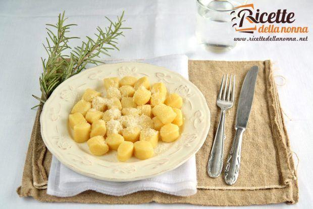 Gnocchi alla piemontese ricetta e foto