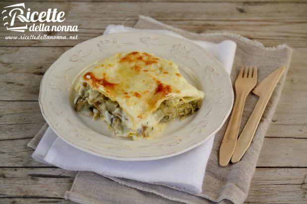 Ricetta lasagna ai carciofi