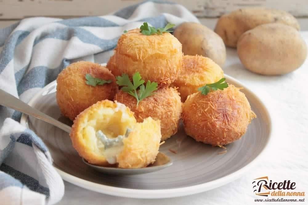Ricetta ricci di patate al gorgonzola