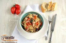 Spaghetti con polpo al cartoccio