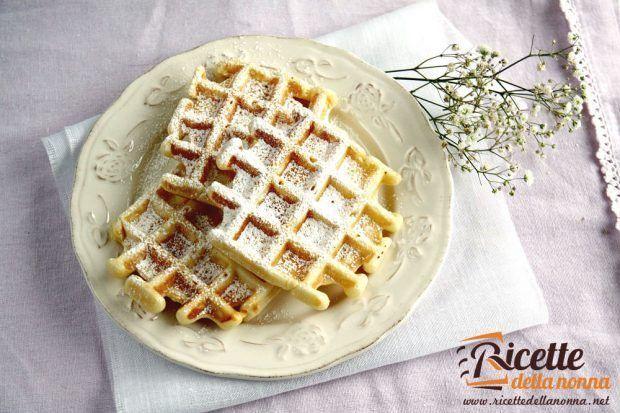 Waffle ricetta e foto