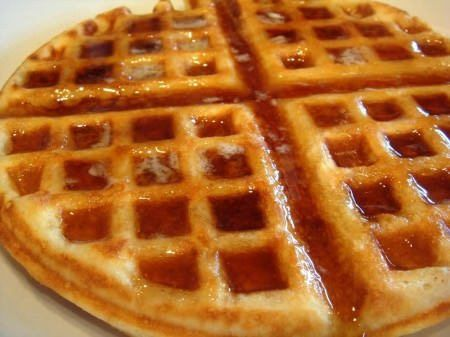 waffle sciroppo acero