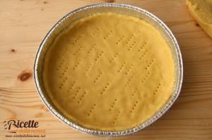 crostata ricotta nutella