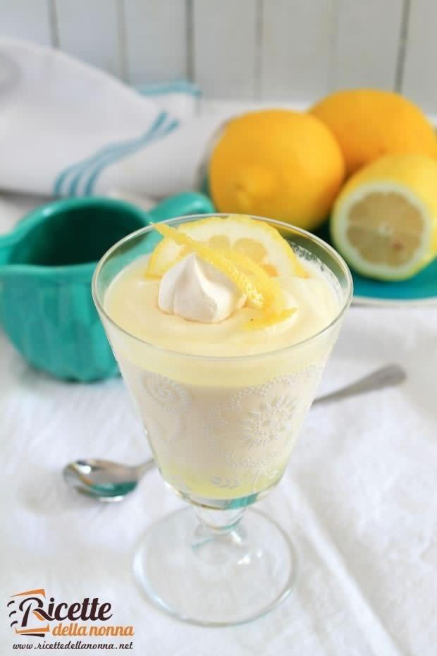 Foto mousse al limone