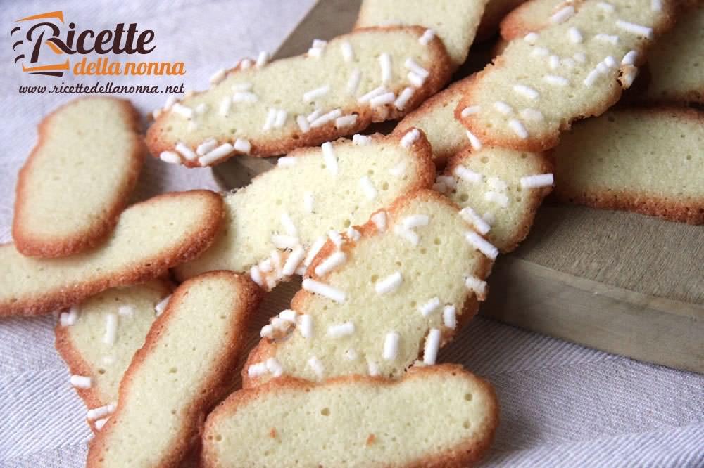 Ricetta Lingue Di Gatto.Biscotti Lingue Di Gatto Ricette Della Nonna