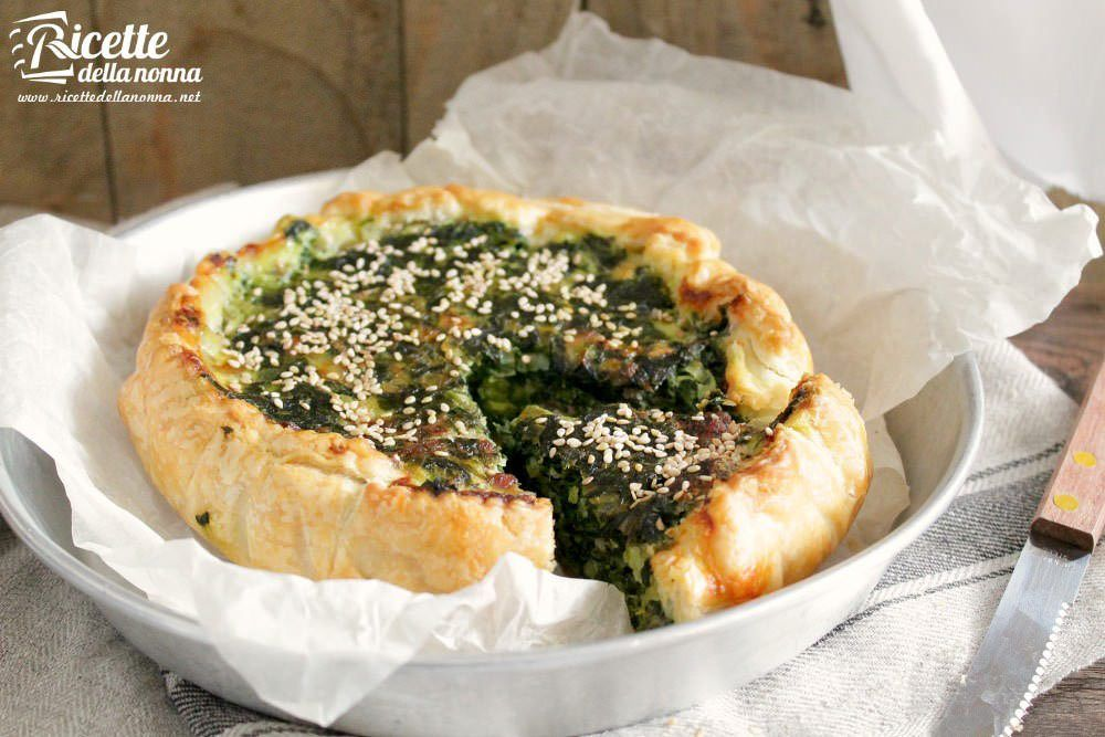 Torta rustica con cicoria ricette della nonna for Ricette cucina moderna