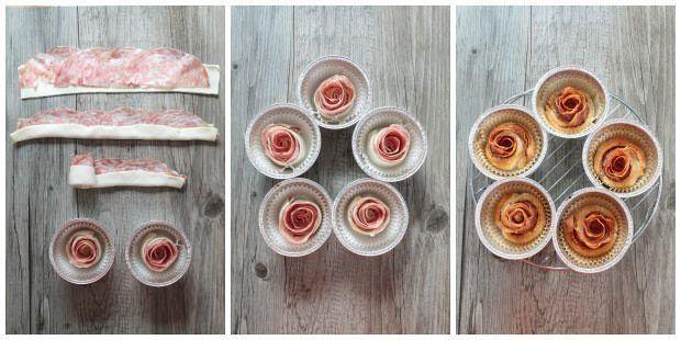 Rose di sfoglia alla finocchiona ricetta e foto