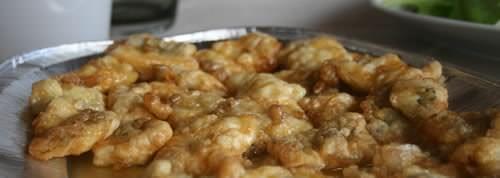 Merluzzo fritto al miele e alle alici ricetta e foto