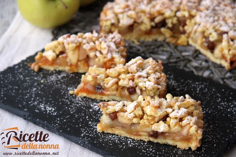 Sbrisolona alle mele ricette della nonna for Ricette torte semplici