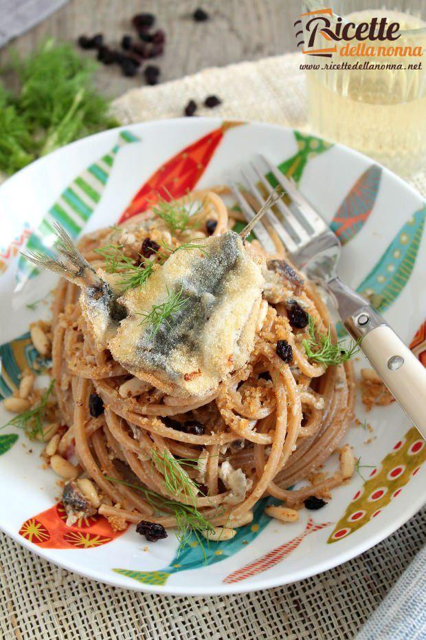 Pasta con le sarde ricette e foto
