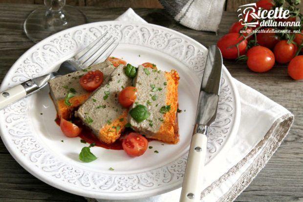 Mattonella di melanzane ricetta e foto