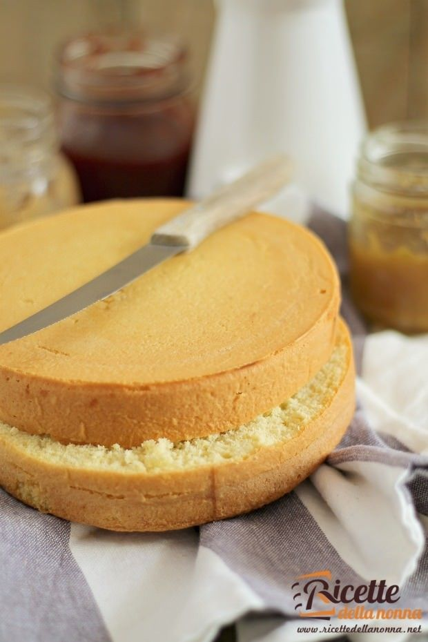 Pan di Spagna ricetta e foto