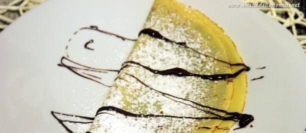 ricetta crepes Nutella