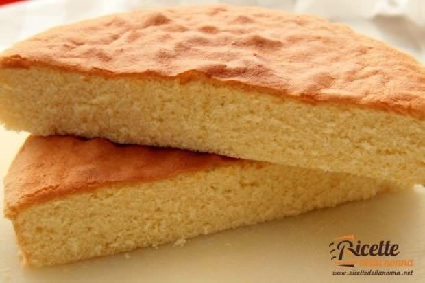 pan di spagna soffice ricetta