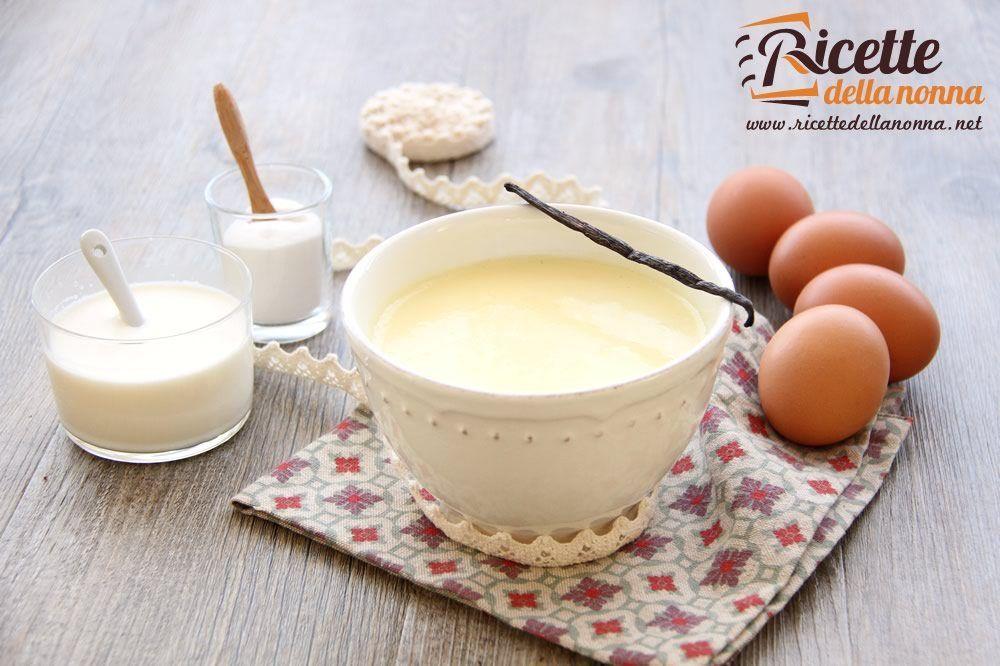 Crema pasticcera classica facile ricetta ricette della nonna for Ricette dolci