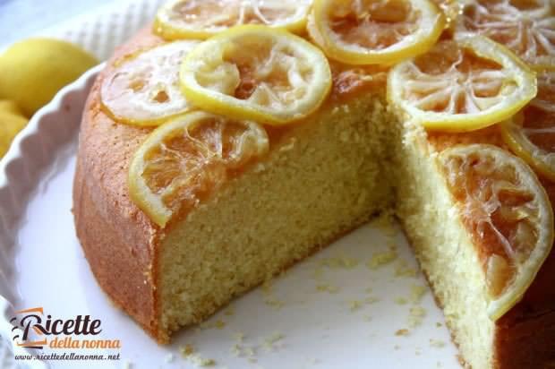 Torta soffice al limone ricetta e foto