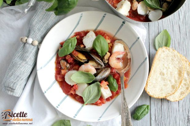 Zuppa Di Pesce Ricette Della Nonna