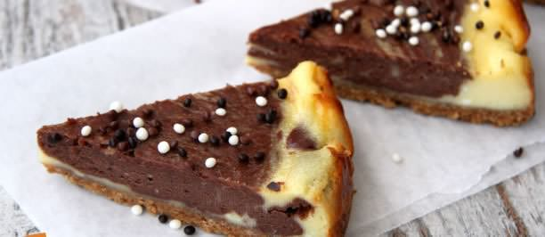 Ricetta cheesecake cioccolata