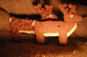 Renne biscotti di Babbo Natale