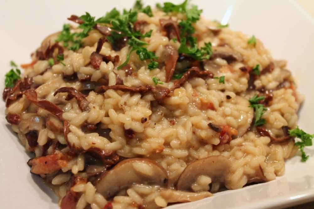 Ricette risotto ai funghi ricette della nonna for Cucinare risotto