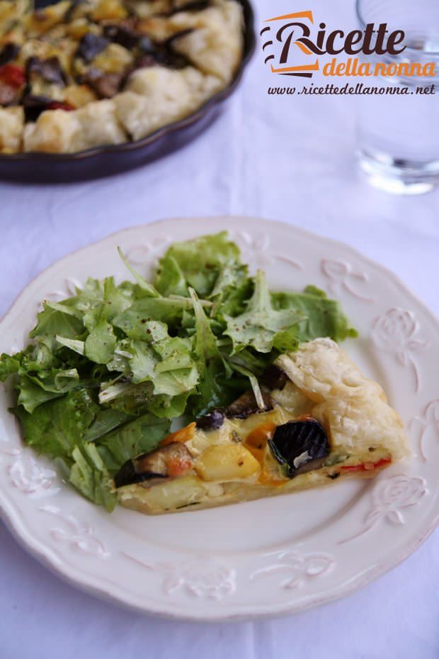 Torta salata alle verdure ricetta e foto