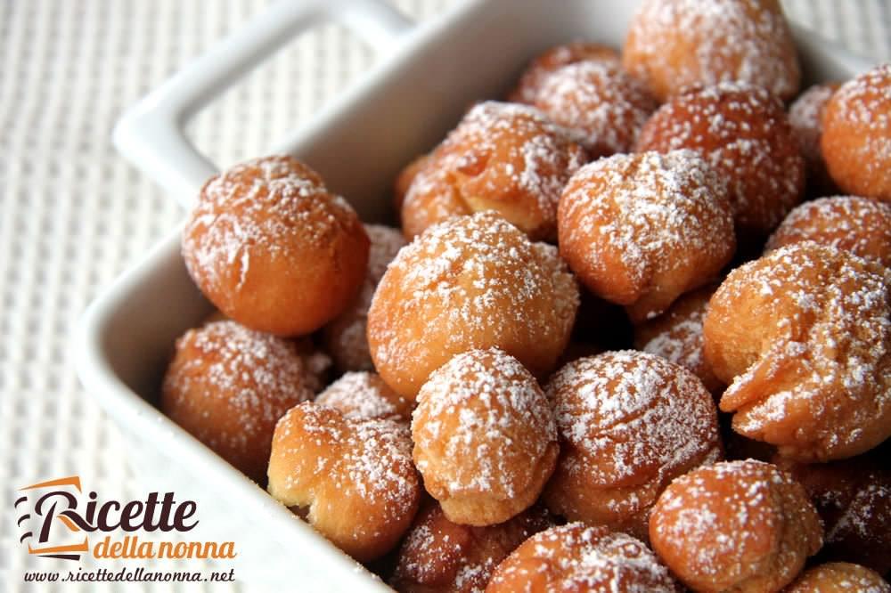 Castagnole ingredienti e ricette del dolce tipico di for Ricette dolci