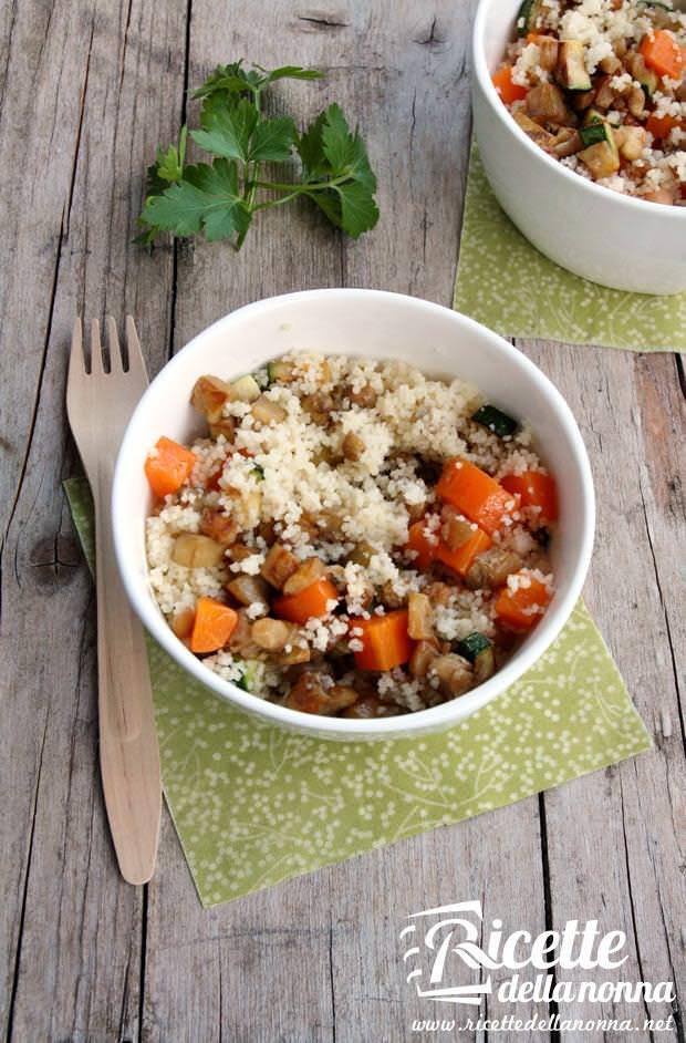 Cous cous vegetale ricetta e foto