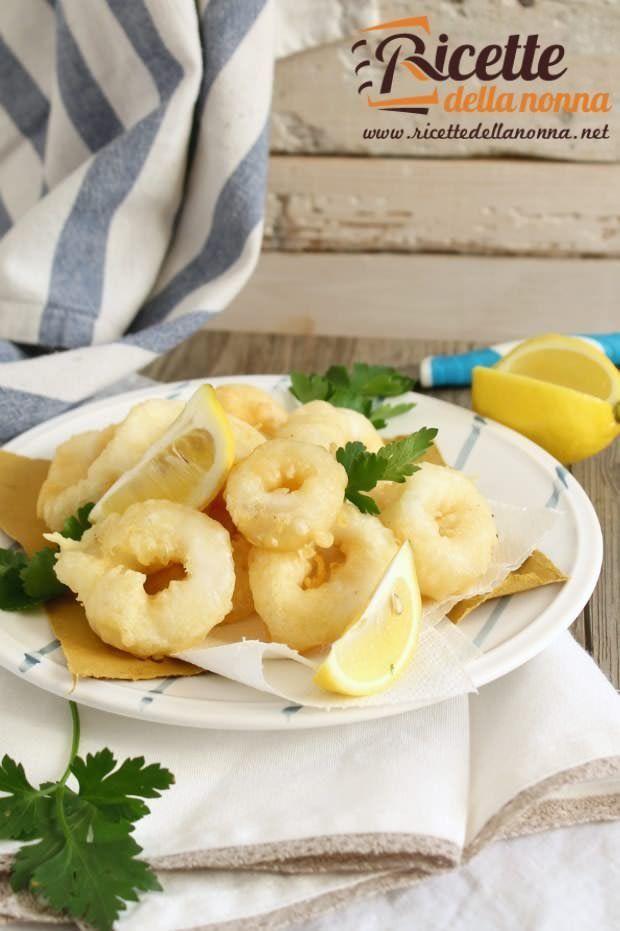 Frittura di calamari ricetta e foto