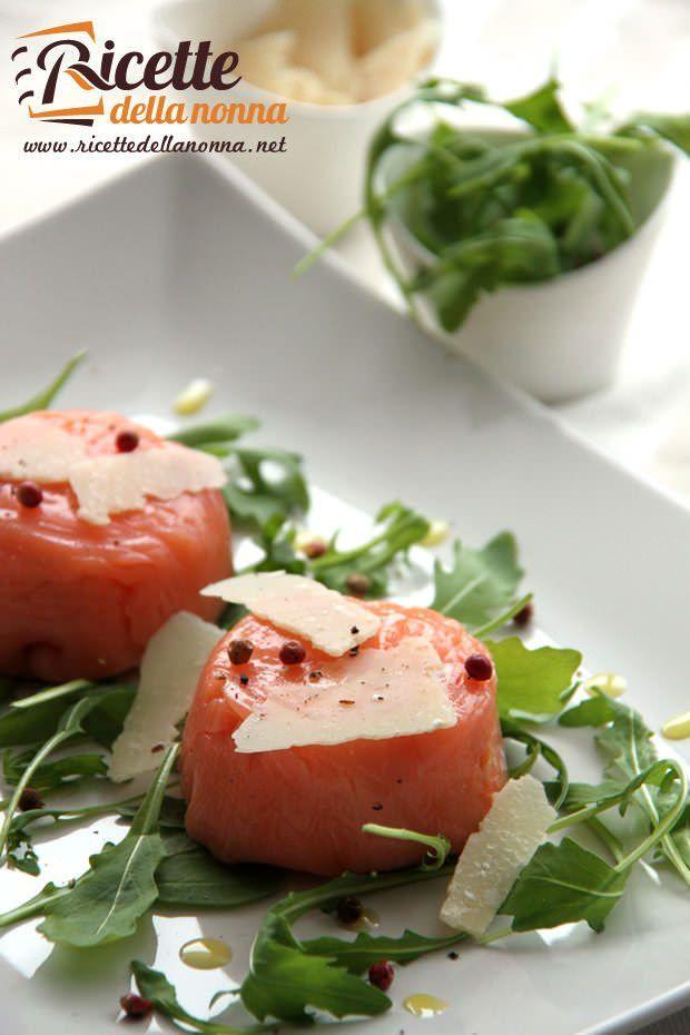 Tortino salmone e robiola ricetta e foto