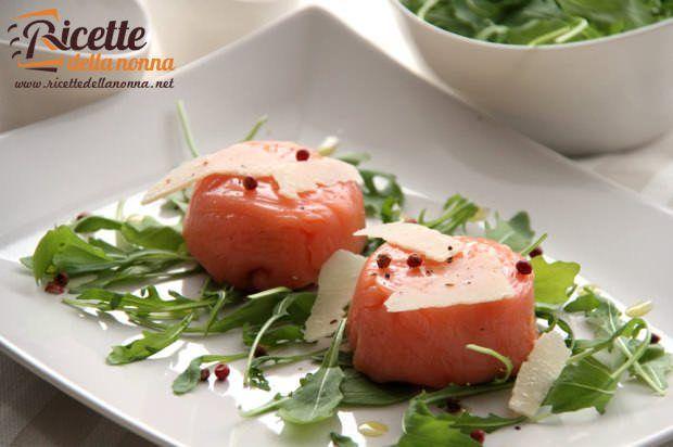 Tortino salmone e robiola