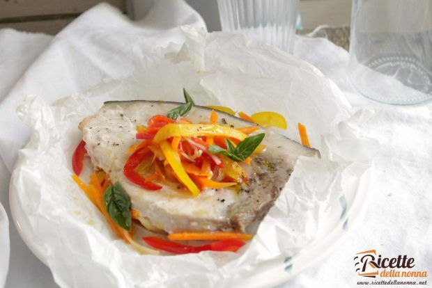 Ricetta pesce spada al cartoccio con verdure