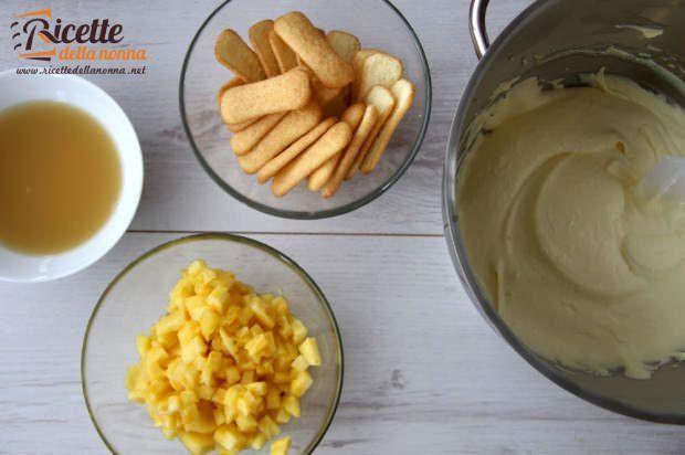 tiramisù ananas ricetta