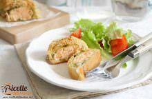 Salmone in pasta sfoglia