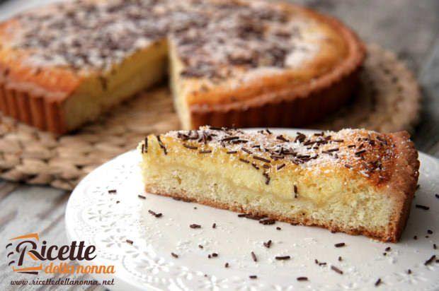 Ricetta crostata cocco panna