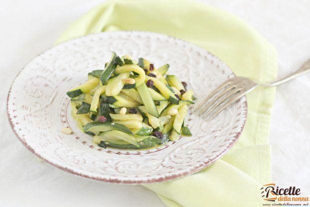 Zucchine agrodolci ricetta e foto