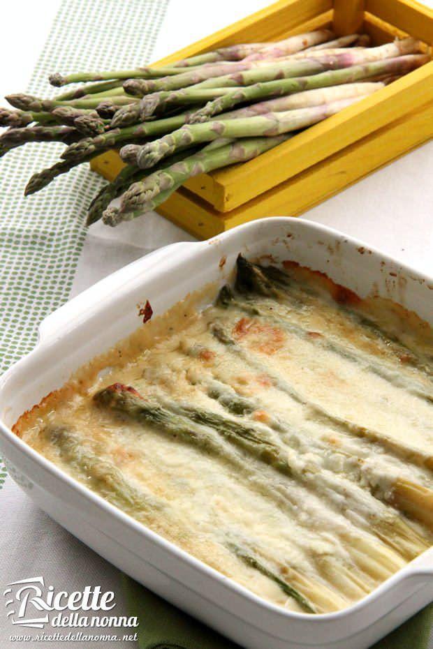 Asparagi alla parmigiana ricetta e foto