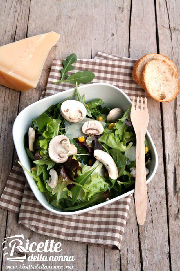Insalata di champignon ricetta e foto