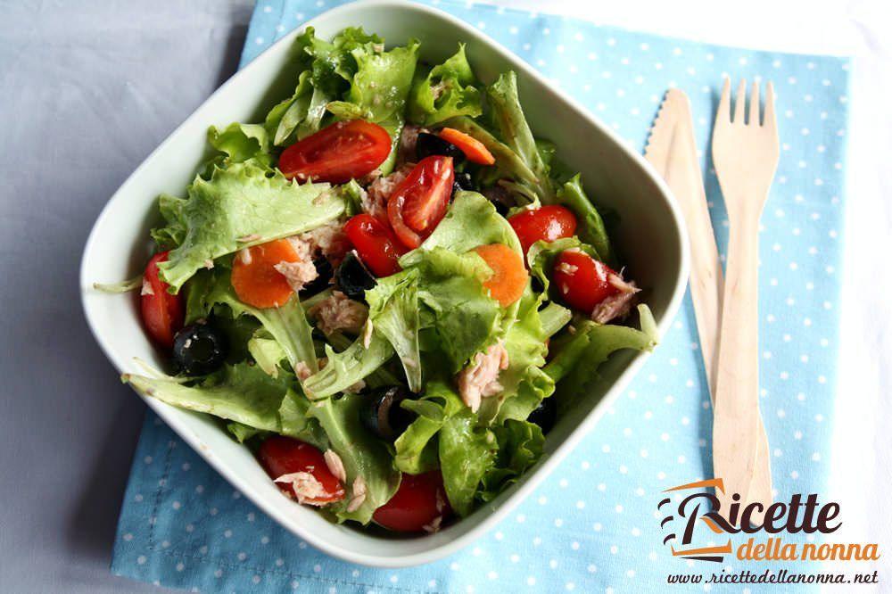 Le 10 migliori insalatone estive ricette della nonna for Ricette insalate
