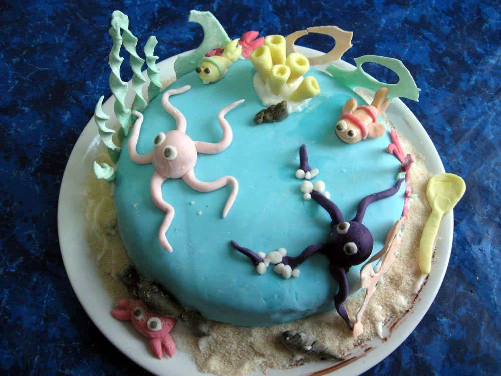 Questa è la torta finita