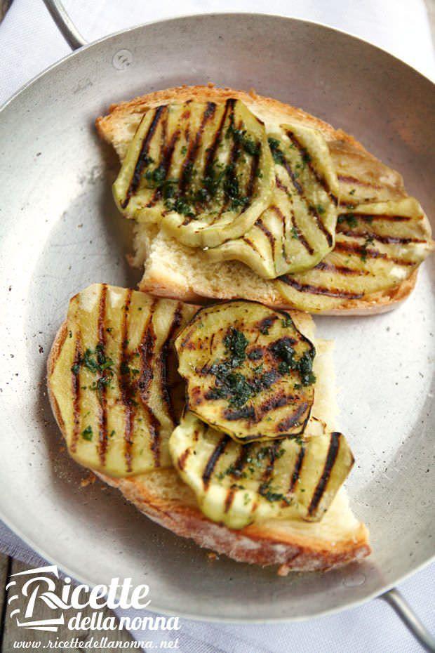 Bruschette alle melanzane ricetta e foto