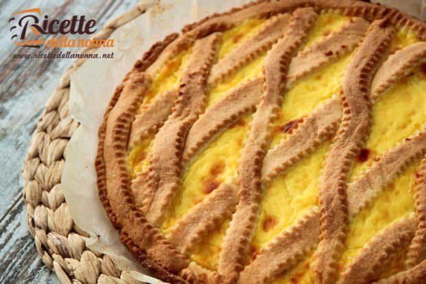 ricetta crostata crema