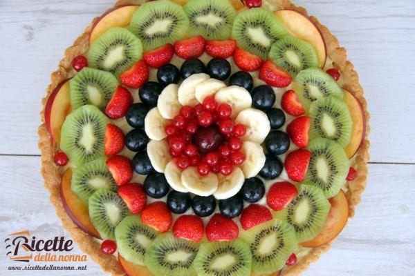 crostata frutta ricetta