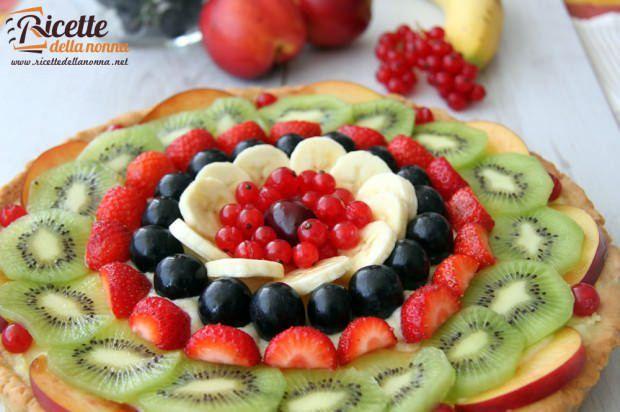 Crostata di frutta ricetta e foto