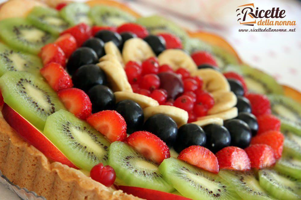 Crostata di frutta ricette della nonna for Ricette di cucina particolari
