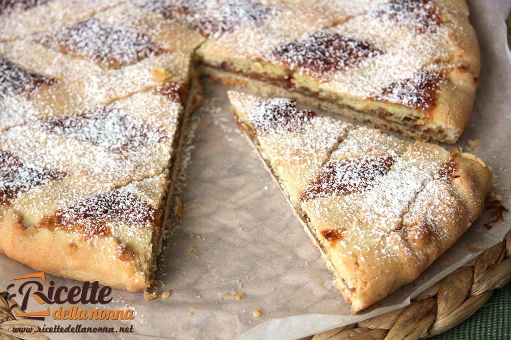 Crostata mascarpone e amaretti ricette della nonna for What to do with mascarpone