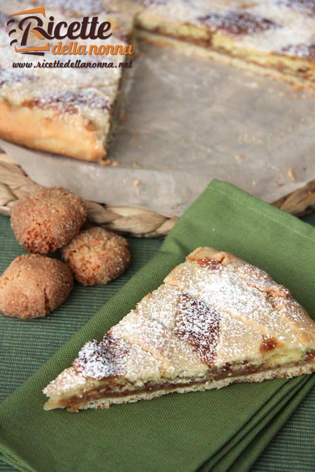 Crostata mascarpone e amaretti ricetta e foto