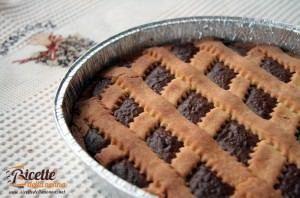 Crostata con la crema di Nutella