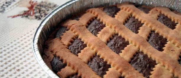 crostata friabile nutella